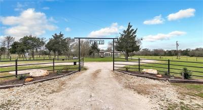 Grimes County Single Family Home Contingency Contract: 3659 Fm 244
