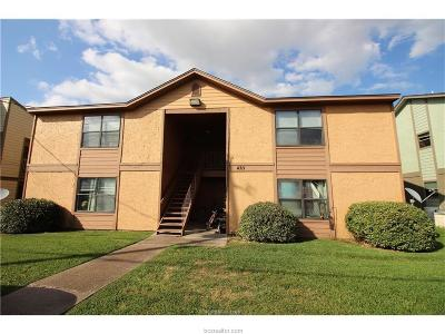 Brazos County Multi Family Home For Sale: 4311 Boyett Street #A-D
