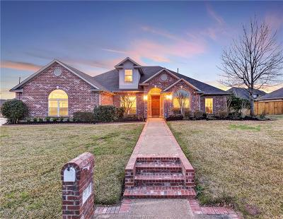 Brazos County Single Family Home For Sale: 5216 Congressional Drive