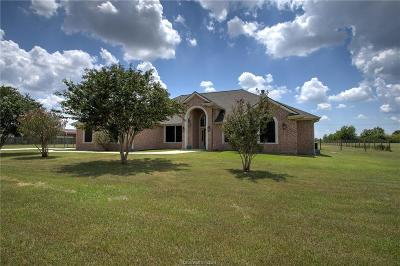 Bryan Single Family Home For Sale: 3281 Stampede Drive