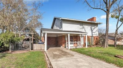 College Station Single Family Home For Sale: 1603 Lawyer Street