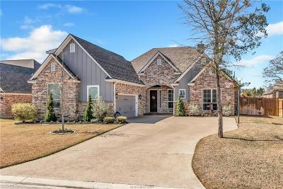 Bryan Single Family Home Contingency Contract: 3316 Lewisburg Court