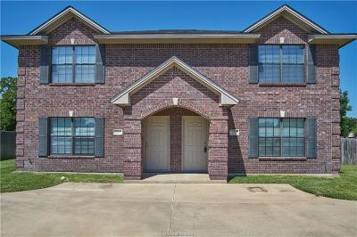 Bryan , College Station Multi Family Home For Sale: 2529 Teal Drive
