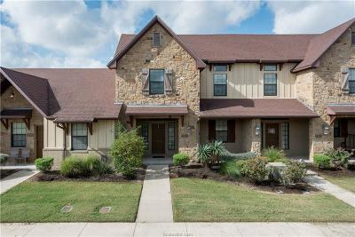 College Station Condo/Townhouse For Sale: 3311 General Parkway