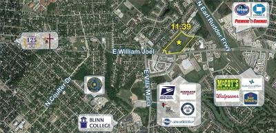 Bryan Residential Lots & Land For Sale: 2102 East William J Bryan Parkway