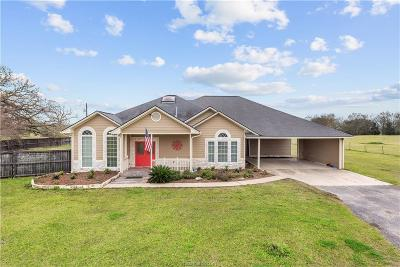 Bryan Single Family Home For Sale: 15910 Wilson Pasture Road