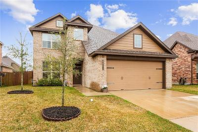 College Station Single Family Home For Sale: 4203 Quartz Creek Court