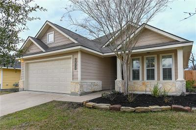 Bryan Single Family Home For Sale: 2014 Mountain Wind