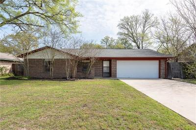 College Station TX Single Family Home For Sale: $174,500