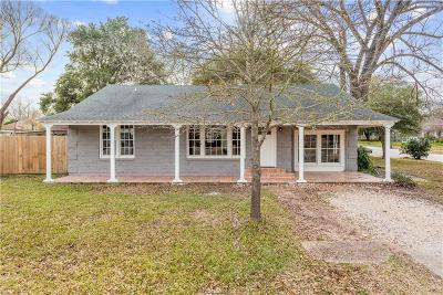 Brazos County Single Family Home For Sale: 1201 Park