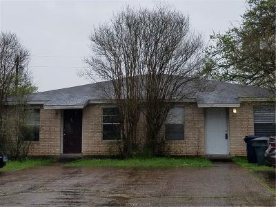 Bryan , College Station Multi Family Home For Sale: 800-802 San Saba Drive