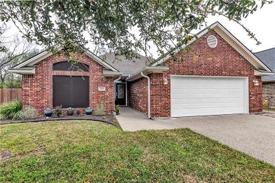 College Station Single Family Home For Sale: 329 Robelmont Drive