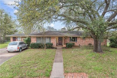 College Station Single Family Home For Sale: 703 Pershing Drive