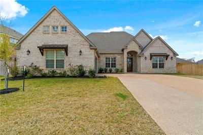 College Station Single Family Home For Sale: 4900 Crooked Branch Court