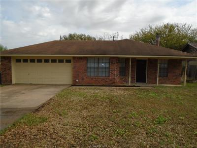 College Station Single Family Home For Sale: 3309 Wildrye Drive