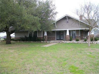 Bryan Single Family Home For Sale: 16266 Bench Lane