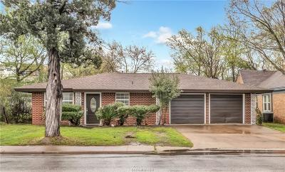 Bryan Single Family Home For Sale: 506 East Wm J Bryan Parkway