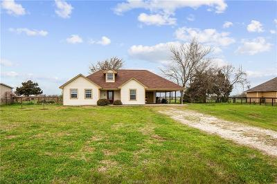 Bryan Single Family Home For Sale: 5821 Standing Rock Road