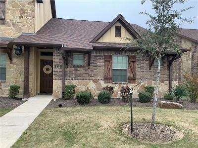 College Station Condo/Townhouse For Sale: 122 Armored