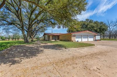 Hearne Single Family Home For Sale: 17105 West Us Highway 79