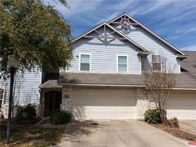 College Station Condo/Townhouse For Sale: 1225 Canyon Creek Circle