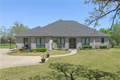 Brazos County Single Family Home For Sale: 3910 Bravo Court
