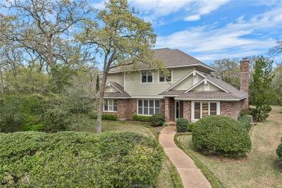 College Station Single Family Home For Sale: 4033 Stillforest Circle