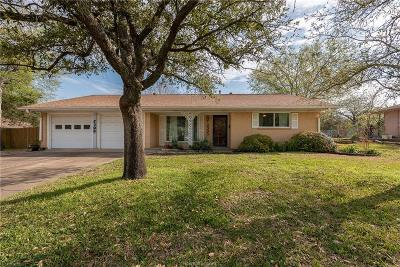 Bryan Single Family Home For Sale: 2305 Kent Street