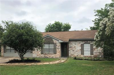 College Station TX Single Family Home For Sale: $199,000