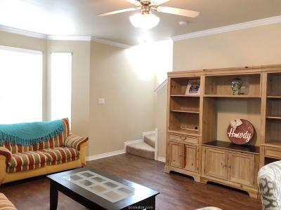 College Station Condo/Townhouse For Sale: 1198 Jones Butler Road #708