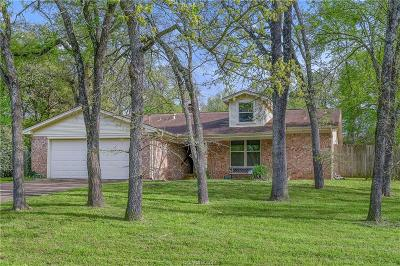 Brazos County Single Family Home Contingency Contract: 3010 Hummingbird Circle