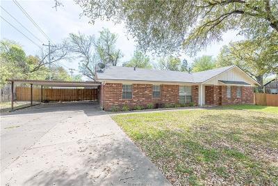 Brazos County Single Family Home For Sale: 1508 Gunsmith Street