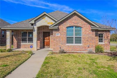 College Station TX Single Family Home For Sale: $270,000