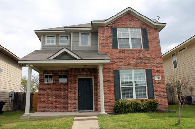 Brazos County Single Family Home For Sale: 2921 McLaren Drive