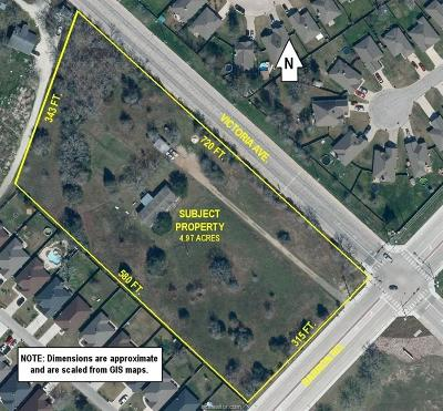 College Station Residential Lots & Land For Sale: 2354 Barron Road