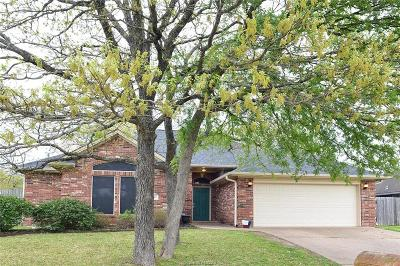 Bryan Single Family Home For Sale: 1816 White Stone Drive