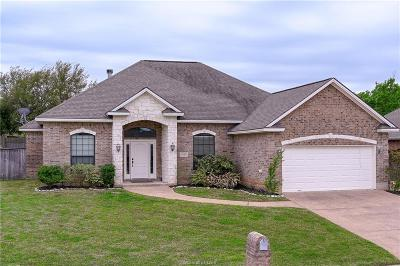 College Station Single Family Home For Sale: 4428 Spring Branch Drive