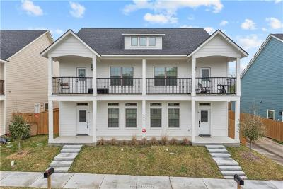 College Station Multi Family Home For Sale: 505 Cooner Street #A & B