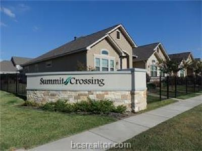 College Station TX Condo/Townhouse For Sale: $257,000