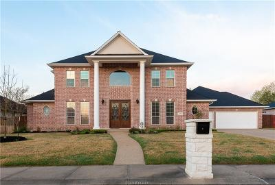 Brazos County Single Family Home For Sale: 5110 Sycamore Hills Drive