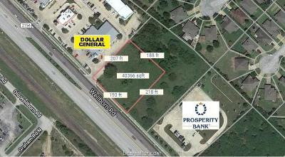 College Station Commercial For Sale: 12925 Fm 2154 Road