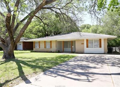 Bryan Single Family Home For Sale: 210 Ehlinger Drive