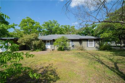 Bryan Single Family Home For Sale: 3309 Green Street