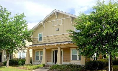 College Station Condo/Townhouse For Sale: 1725 Harvey Mitchell #4411