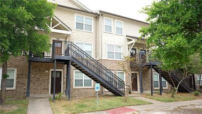 College Station Condo/Townhouse For Sale: 1725 Harvey Mitchell #1726