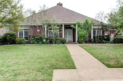 Brazos County Single Family Home For Sale: 8307 Shadow Oaks
