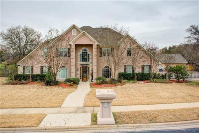 College Station Single Family Home For Sale: 3109 Westchester