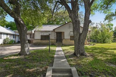 Bryan Single Family Home For Sale: 1304 East 30th Street