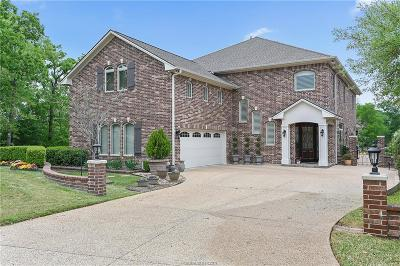 College Station Single Family Home For Sale: 4742 Stonebriar Circle