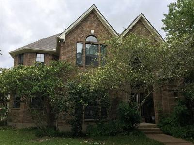 Brazos County Single Family Home For Sale: 9310 Amberwood Court